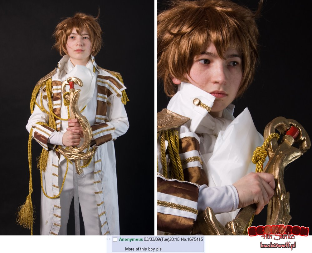 Ecchicon 4 cosplay (Kwak): Yes, more of this boy please :)