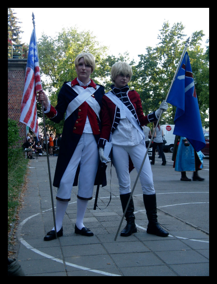PierniCON 5 — cosplay (SQuall): Hetalia - USA & Anglia