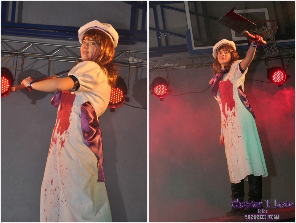 Chapter 1: Love — cosplay (Mietek, Zbysiu & BRZUZEEE TEAM): Higurashi No Naku Koro Ni
